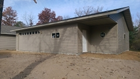 New Garage in Saratoga